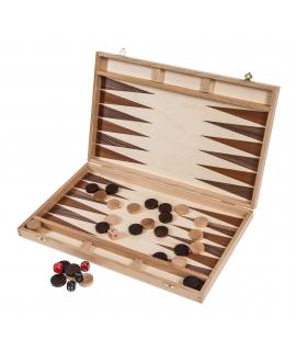 Backgammon 40 - Intarsja
