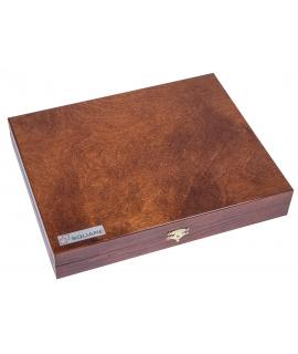Schachfiguren - Staunton 5 + Koffer Lux