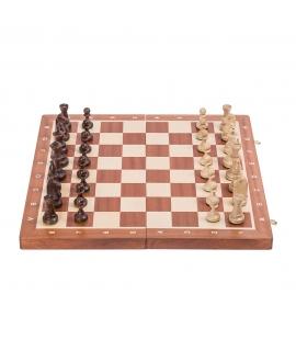 Schach Turnier Nr. 5 - Mahagoni
