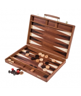 Backgammon 38 Exclusive - Mahoń