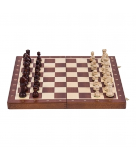Schach Turnier Nr. 4 - Mahagoni