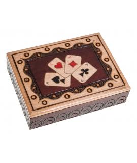 Spielkartenbox - Herz