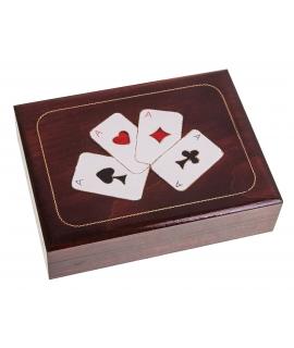 Spielkartenbox - 4 Ass