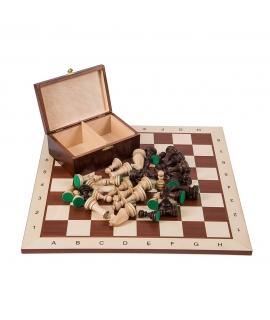 Profi Schach Set Nr 5 - Mahagoni BL