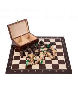 Profi Chess Set No 6 - Wenge