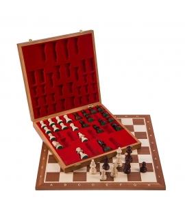 Profi Schach Set Nr 6 - Mahagoni Lux