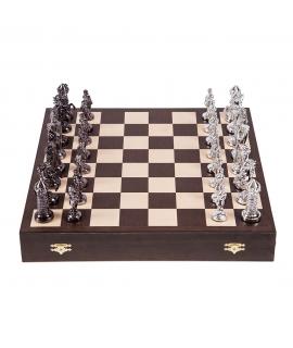Schach Mittelalter - Silver Edition