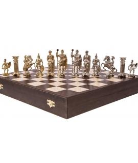 Schachfiguren Roman - Metal lux