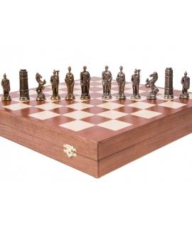 Schachfiguren Germanisch - Metal Lux