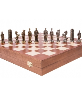 Chess Pieces English - Metal lux