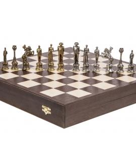 Schachfiguren Napoleon - Metal lux