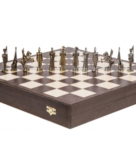 Chess Pieces French - Metal lux