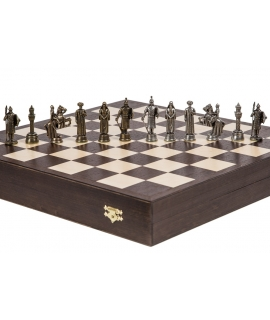 Chess Pieces Emirates - Metal lux