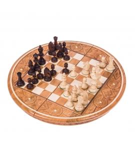 Schach Rubin - Rot