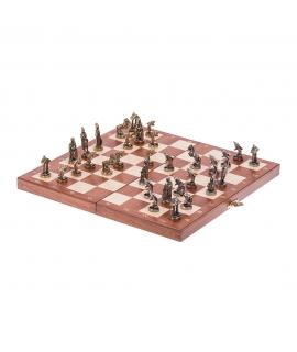 Schach Delphin - Mini - Metal