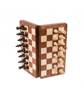 Schach Magnetisch - Mahagoni