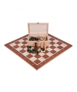 Profi Schach Set Nr 5 - Mahagoni
