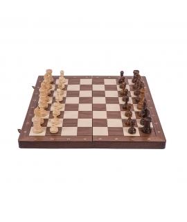 Schach Turnier Nr. 4 - Nuss - Classic