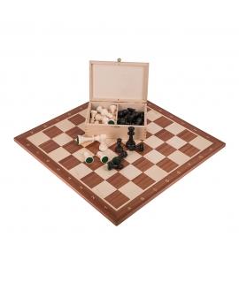 Profi Schach Set Nr 5 - Mahagoni - Outlet