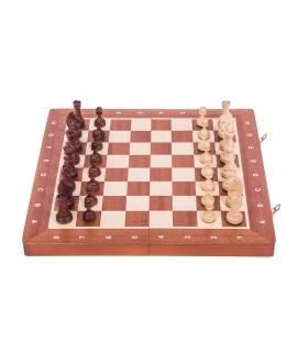 Schach Magnetisch - Staunton 4 - Mahagoni
