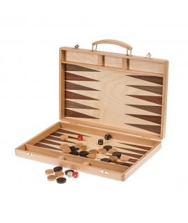 Backgammon 38 Exclusive - Mahagoni