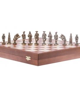 Schachfiguren - Matador - Metal Lux