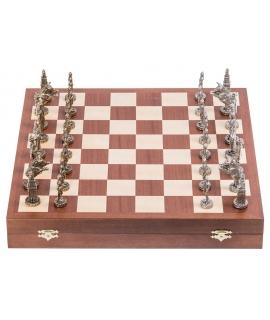 Schach König Arthur - Metal Lux