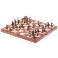 Schach Mini - Figuren aus Metall