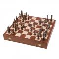 Schach - Figuren aus Metall